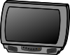 free vector Small Flat Panel Lcd Television clip art