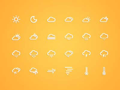 free vector Small fresh weather icon vector