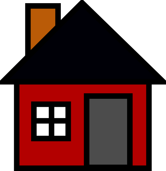 free vector Small House clip art