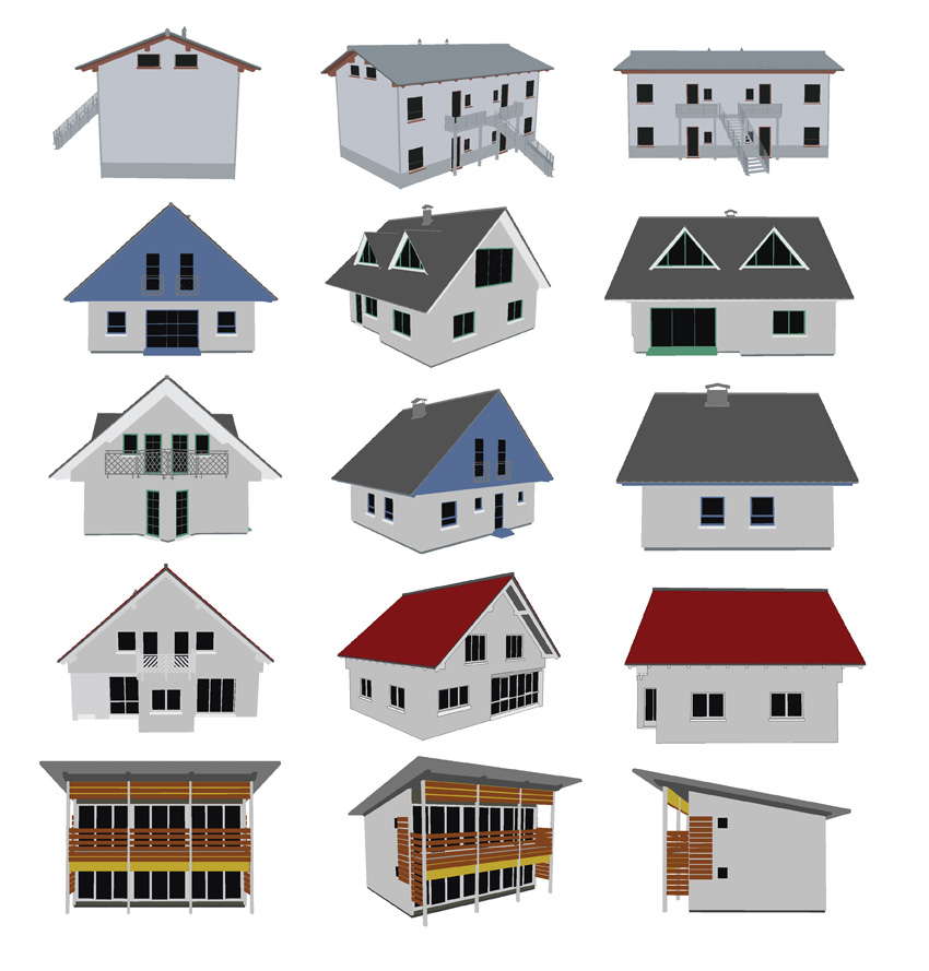 free vector Small house vector