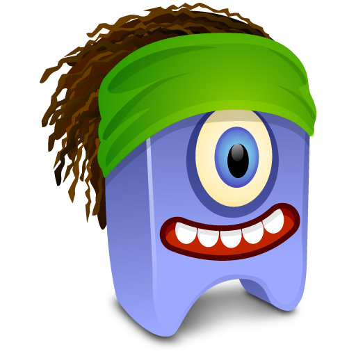 free vector Small oneeyed monster beast