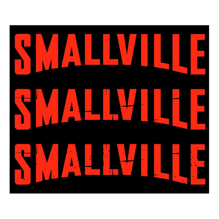 free vector Smallville superman