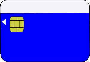 free vector Smartcard clip art