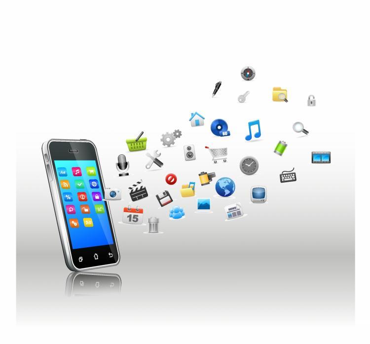 free vector Smartphone smart option