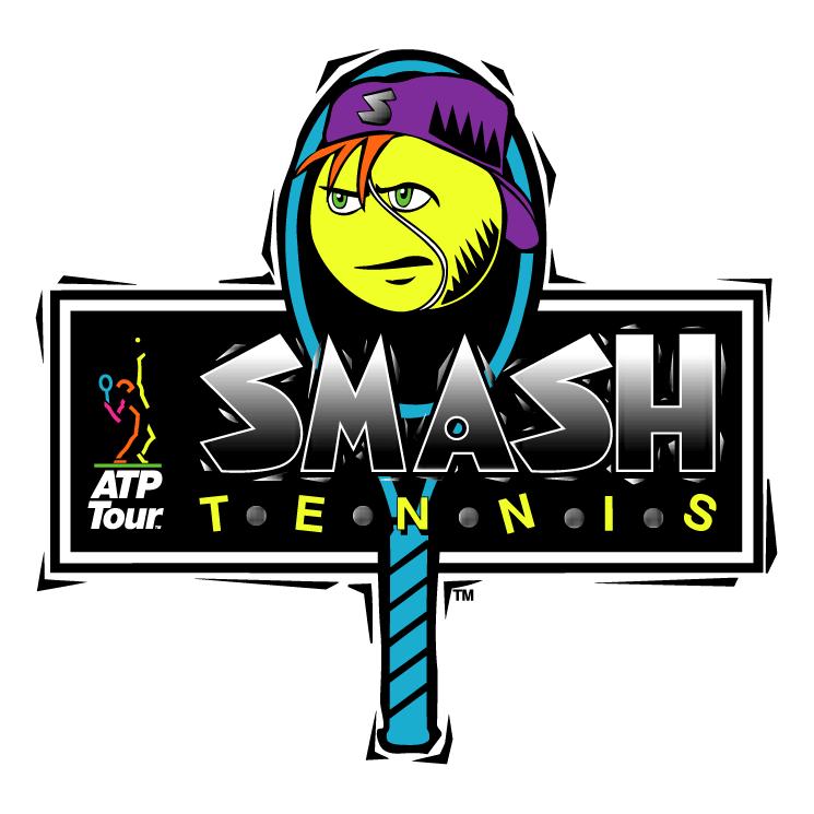 free vector Smash tennis