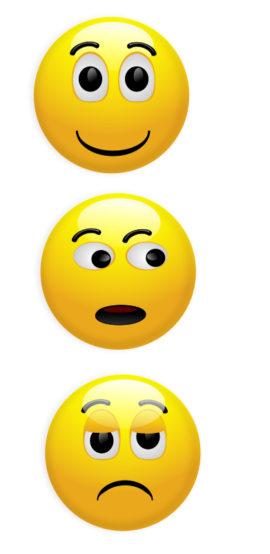 free vector Smiley 5
