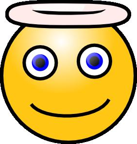 free vector Smiley Angel clip art