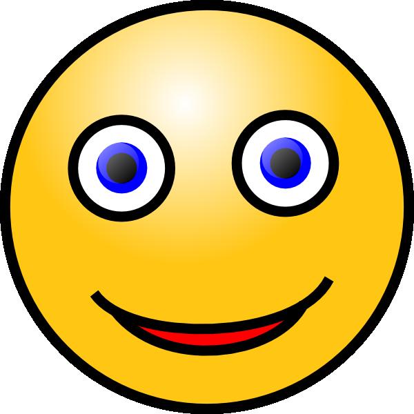 smiley face clip art free vector 4vector rh 4vector com Yellow Smiley Face Clip Art Smiley-Face Emotions Clip Art