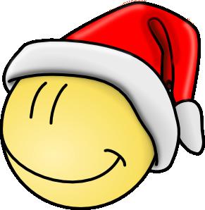 free vector Smiley Santa Face clip art
