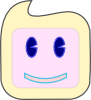 free vector Smiley Square Face clip art