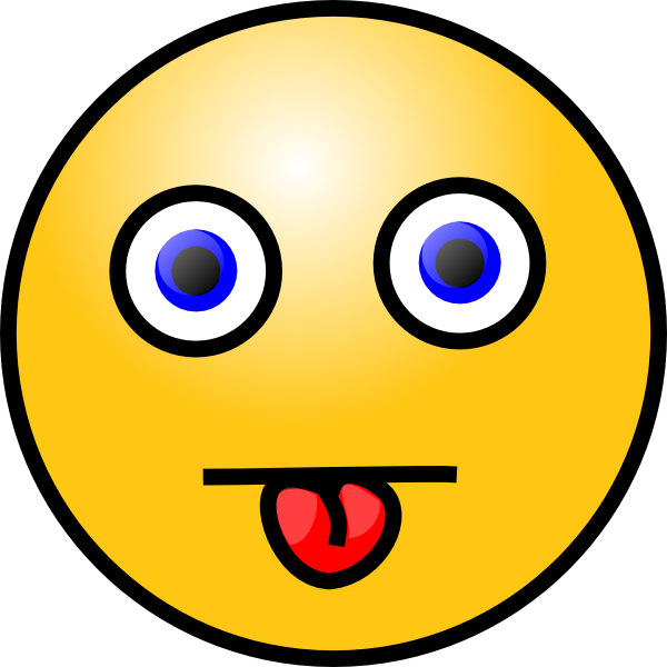 free vector Smiley With Tongue Out clip art