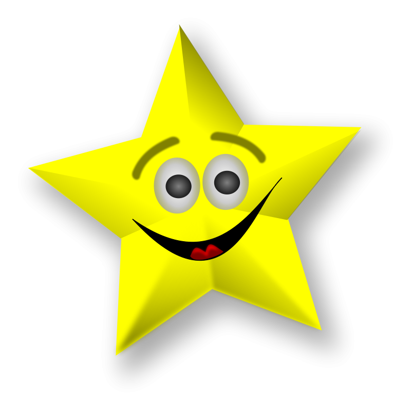 free vector Smiling Star