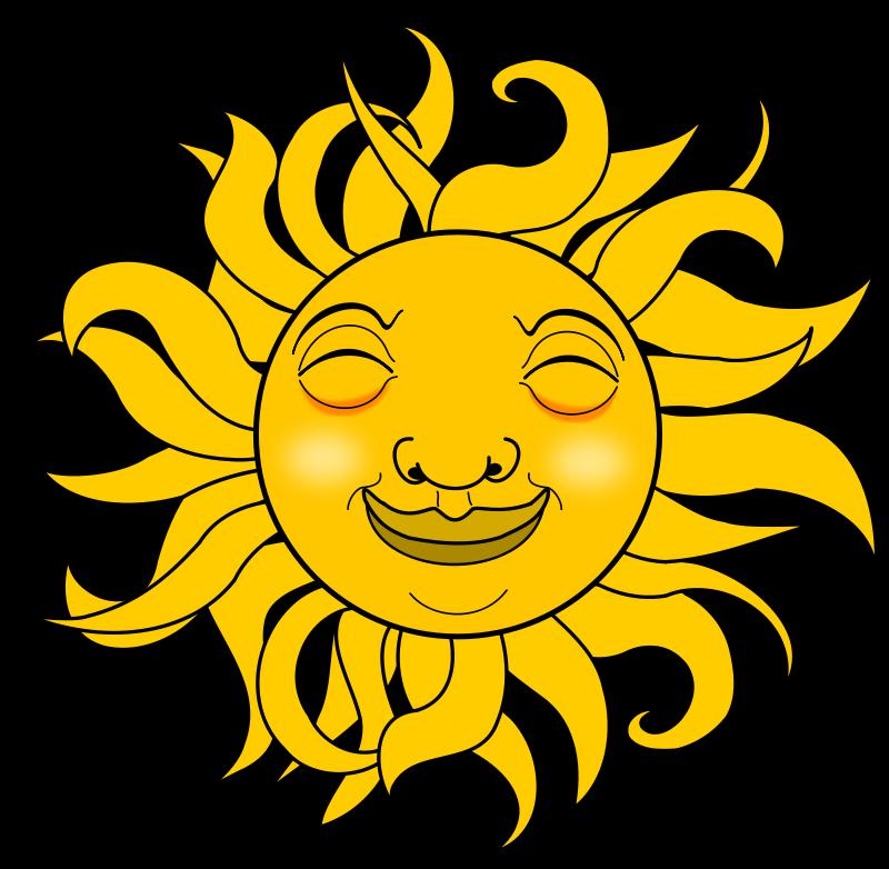 free vector Smiling Sun