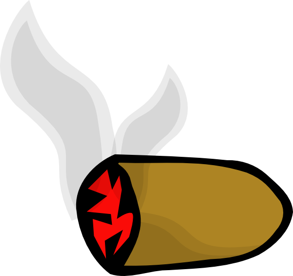 free vector Smoke Cigar Stub clip art