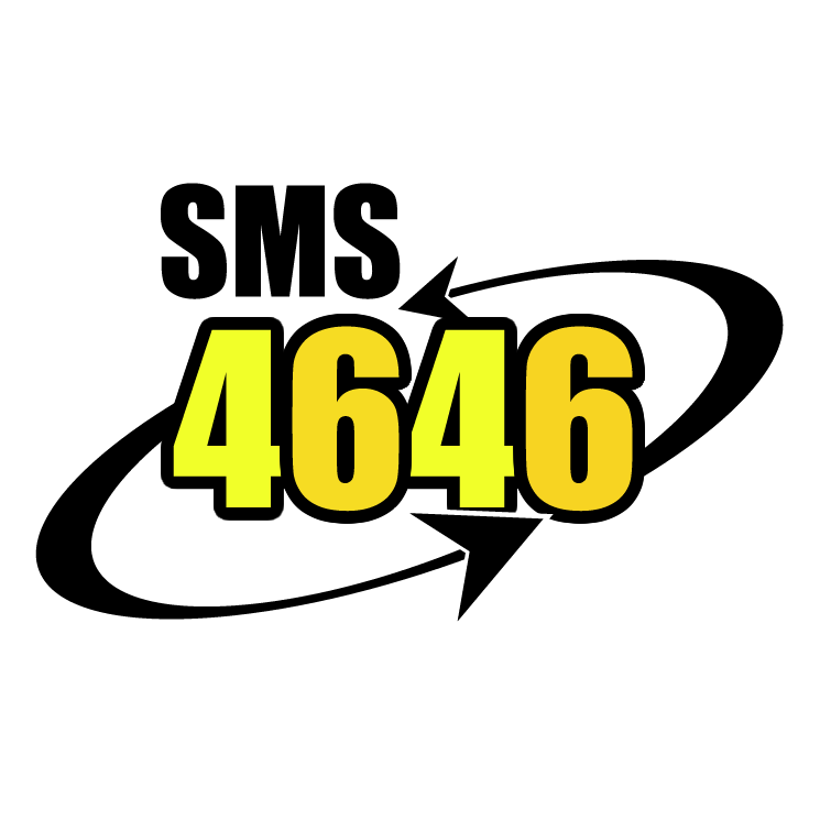 free vector Sms 4646