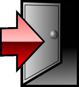 free vector Sneptune Logoff Icon clip art