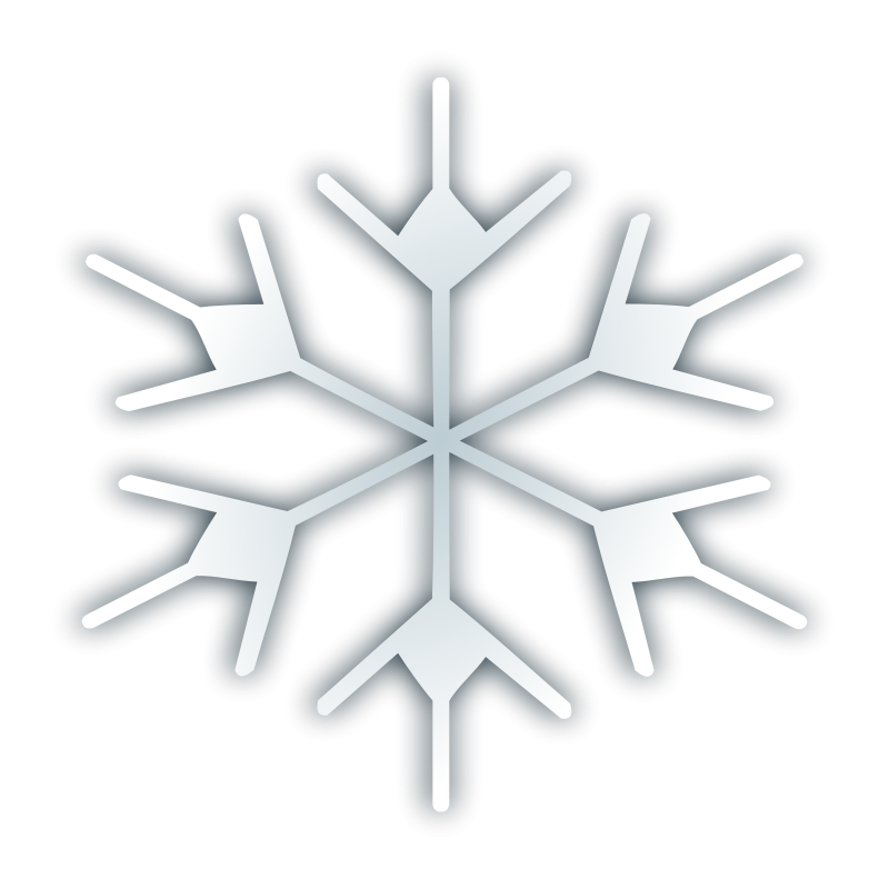 free vector Snow fake icon 2