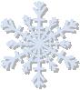 free vector Snow Flake clip art