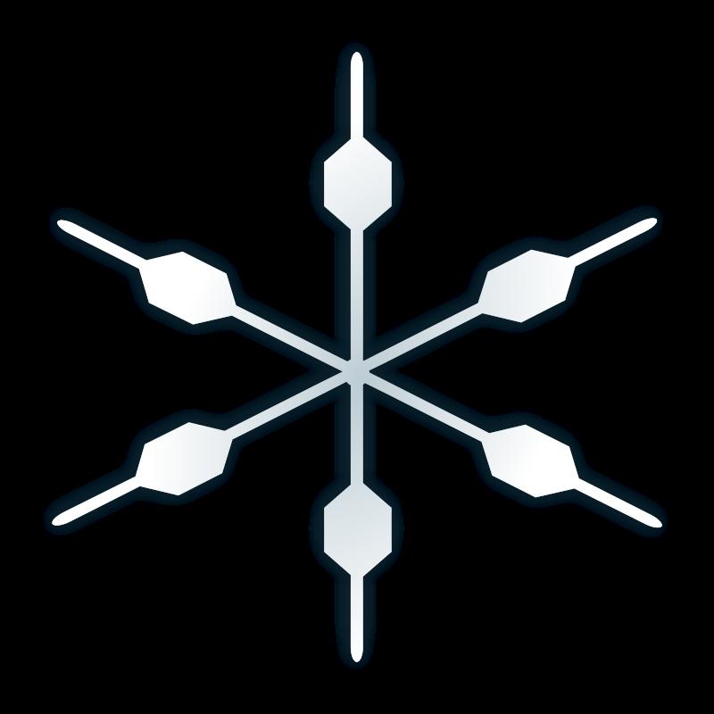 free vector Snow flake icon
