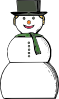 free vector Snow Woman clip art