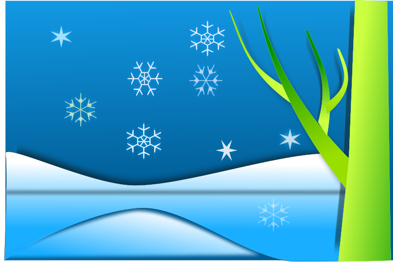 free vector Snow