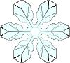 free vector Snowflake 1 clip art