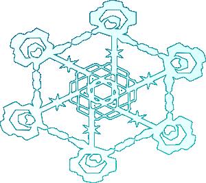 free vector Snowflake 2 clip art