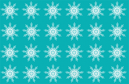 free vector Snowflake Christmas Pattern Vector