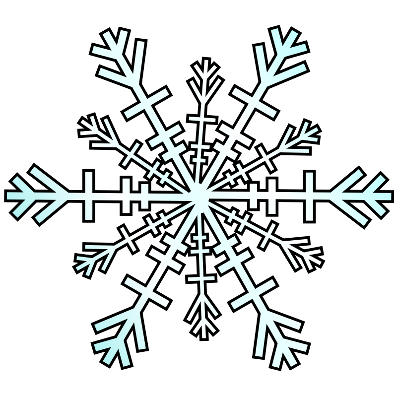 snowflake free vector 4vector rh 4vector com free snowflake vector commercial use free snowflake vector pattern
