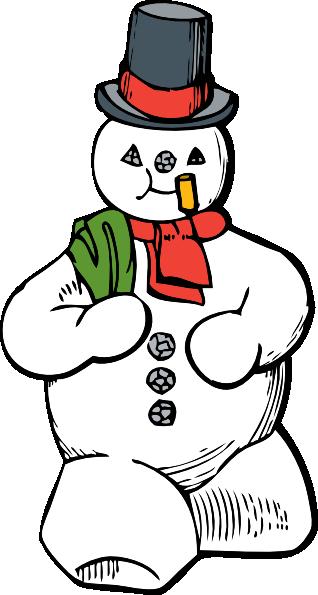 snowman clip art free vector 4vector rh 4vector com free clipart snowman faces free clip art snowman scene