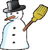 free vector Snowman clip art