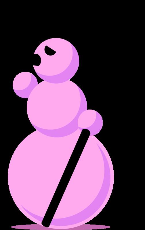 free vector Snowman-Emo by Rones