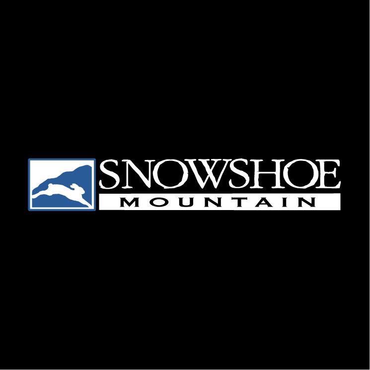 free vector Snowshoe mountain 2