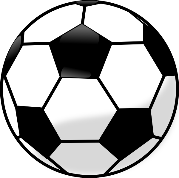 soccer ball clip art free vector 4vector rh 4vector com clipart sports balls clip art black and white sports balls