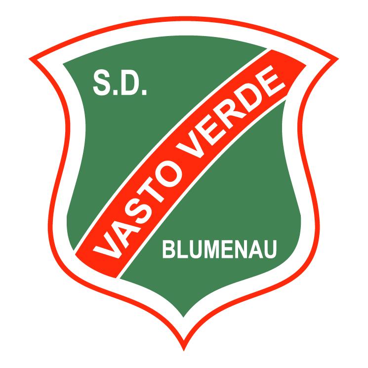 free vector Sociedade desportiva vasto verde de blumenau sc