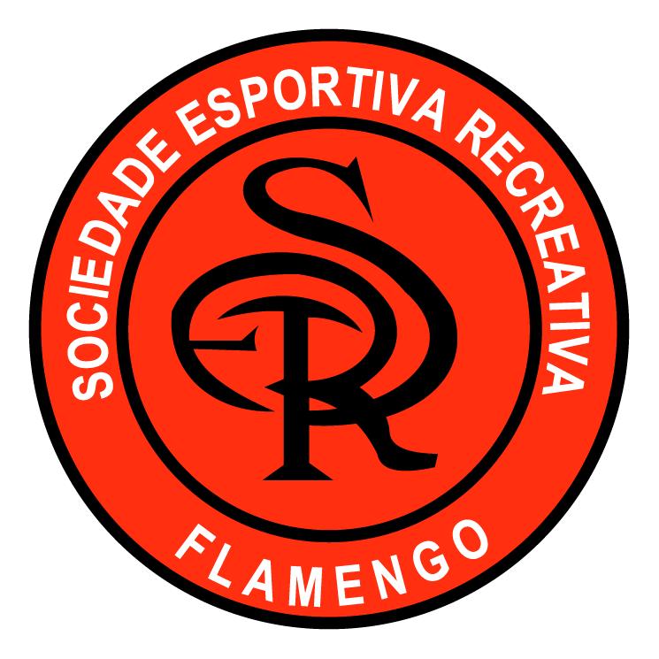 free vector Sociedade esportiva e recreativa flamengo de flores da cunha rs