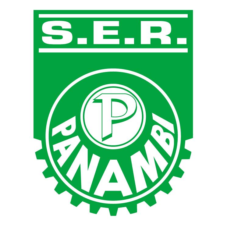 free vector Sociedade esportiva e recreativa panambi de panambi rs