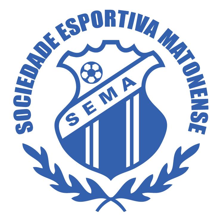 free vector Sociedade esportiva matonense