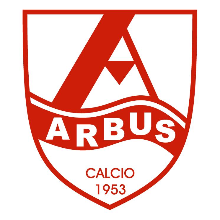 free vector Societa sportiva arbus calcio de arbus
