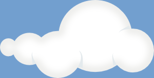 free vector Soft Clouds Sky clip art