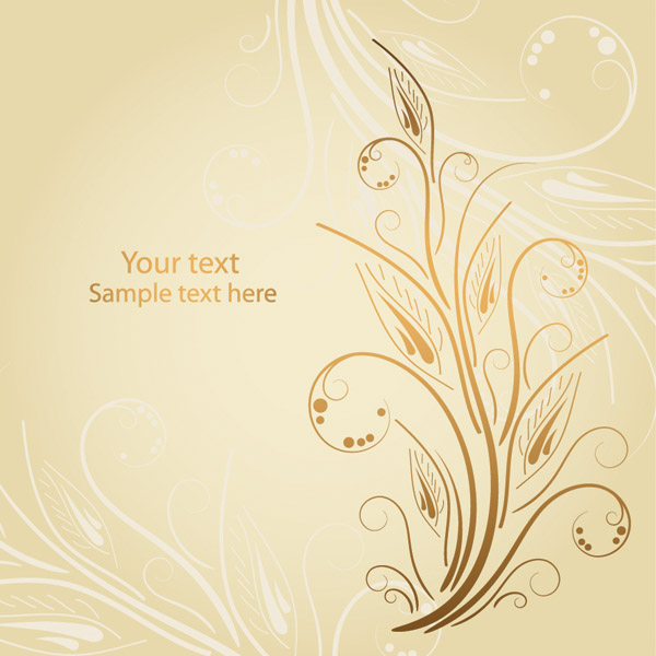 free vector Soft pattern vector