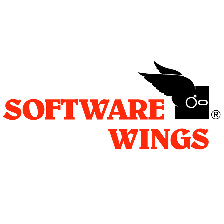 free vector Software wings