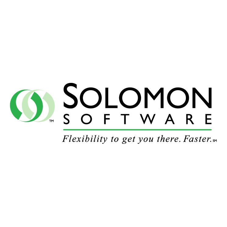 solomon software free vector    4vector