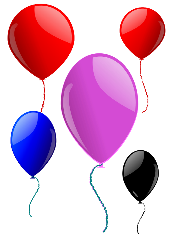 Some Balloons 101571 Free Svg Download 4 Vector