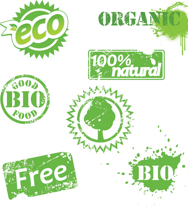 free vector Some eco theme icon vector