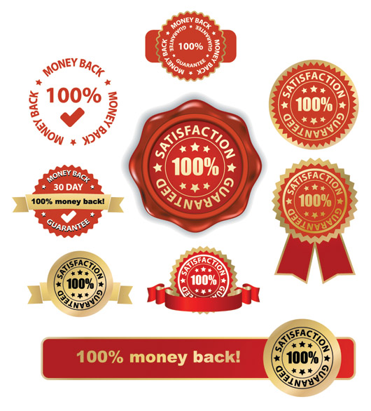 free vector Some of the practical badge medal vector