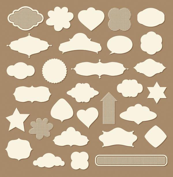 free vector Some useful web design decorative elements vector