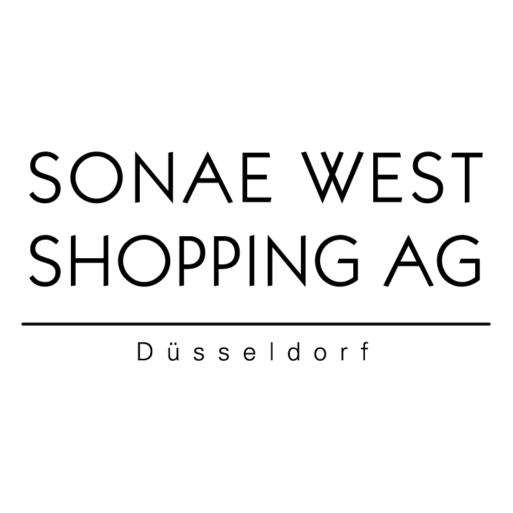 free vector Sonae west shopping ag