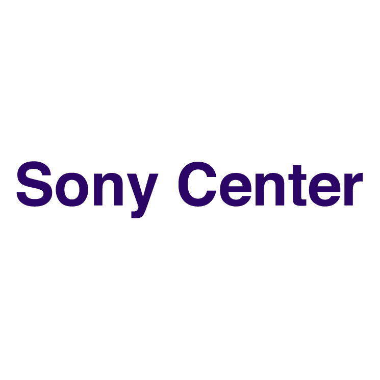 free vector Sony center