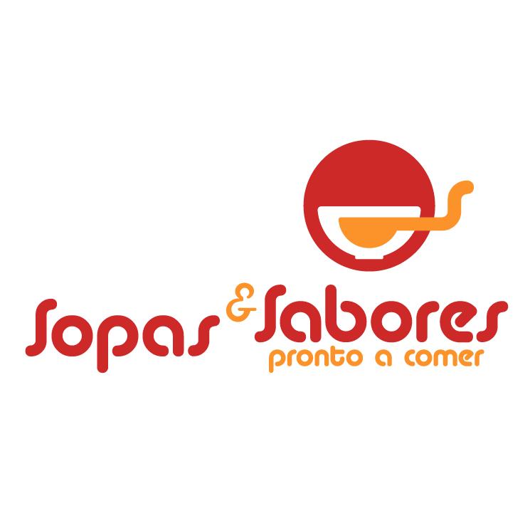 free vector Sopas sabores